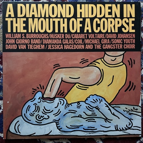 VARIOUS A Diamond Hidden In The Mouth Of A Corpse (Giorno Poetry Systems - USA original) (EX) LP