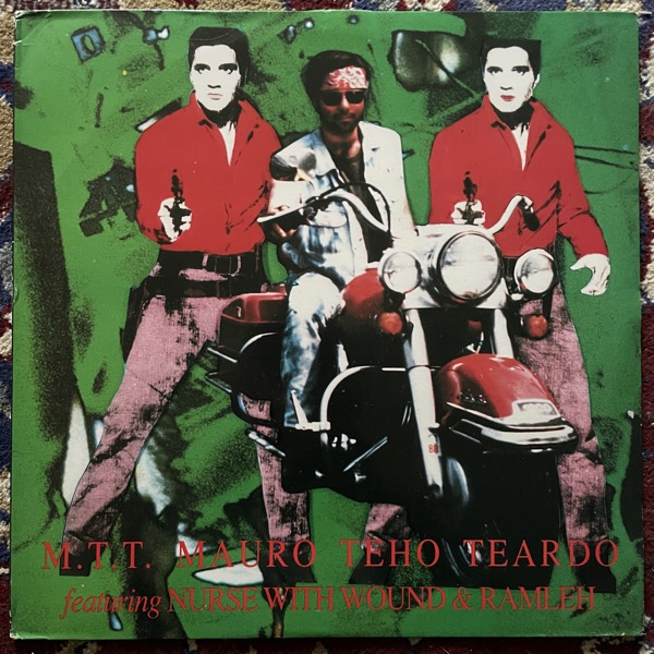M.T.T. MAURO TEHO TEARDO FEATURING NURSE WITH WOUND & RAMLEH Caught From Behind (Minus Habens - Italy original) (VG+/EX) LP