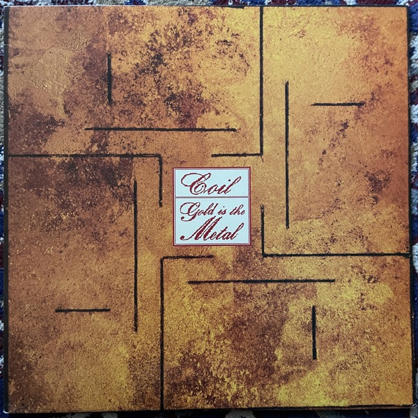 COIL Gold Is The Metal (With The Broadest Shoulders) (Threshold House - UK original) (EX/VG+) LP