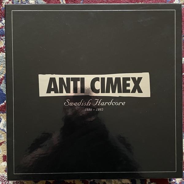"ANTI CIMEX Swedish Hardcore 1986 - 1993 (Svart - Finland original) (NM) 3LP+7"" BOX"