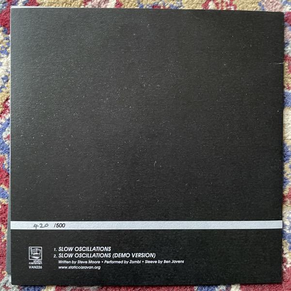 "ZOMBI Slow Oscillations (Static Caravan - UK original) (EX) 7"""