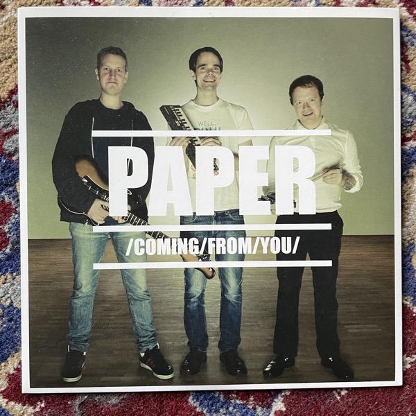 "PAPER Coming From You (Destruction - Sweden original) (EX) 7"""