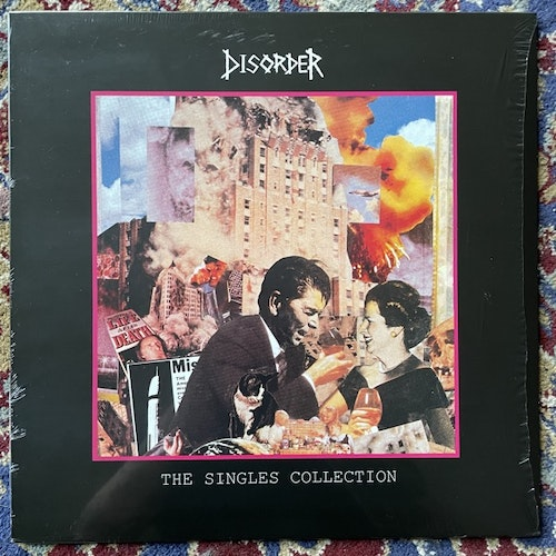 DISORDER The Singles Collection (Radiation - Italy reissue) (NM/EX) LP