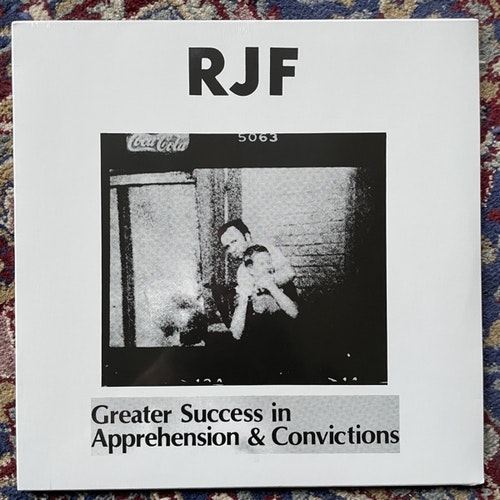 RJF Greater Success In Apprehension & Convictions (Harbinger Sound - UK reissue) (SS) LP