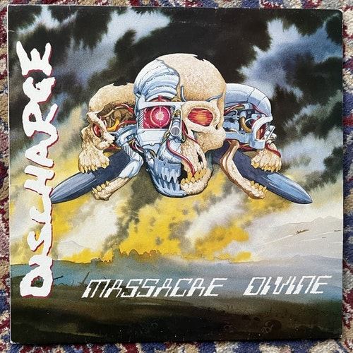 DISCHARGE Massacre Divine (Clay - UK original) (VG+/VG) LP