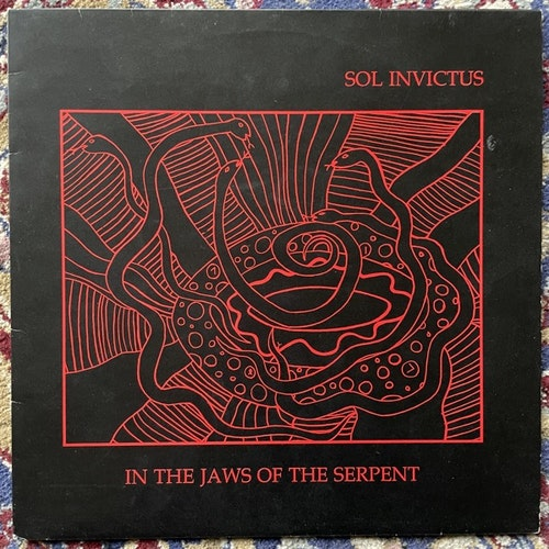 SOL INVICTUS In The Jaws Of The Serpent (S.V.L. - UK original) (VG+) LP