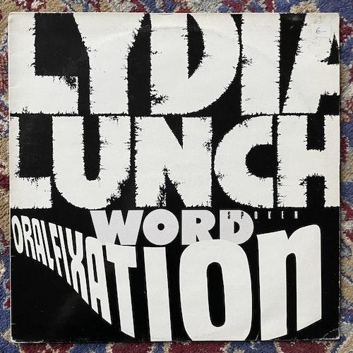 LYDIA LUNCH Oral Fixation (Widowspeak - USA original) (VG/VG+) LP