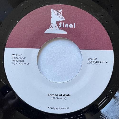 "AL CISNEROS Teresa Of Avila (Sinai - USA original) (EX) 7"""