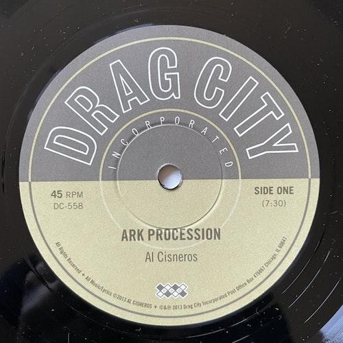 """AL CISNEROS Ark Procession / Jericho (Drag City - USA original) (EX) 10"""""""