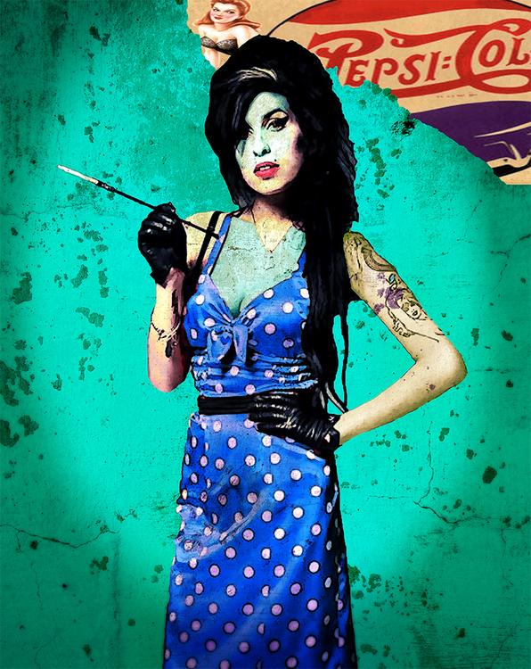 AMY #7 BLUE