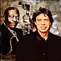 B.B. KING AND MICK JAGGER
