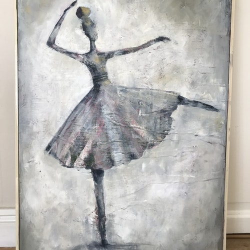 Happy ballerina