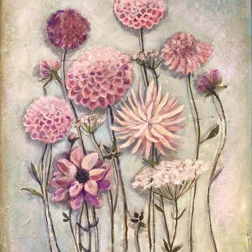 Det blommar alltid där du står