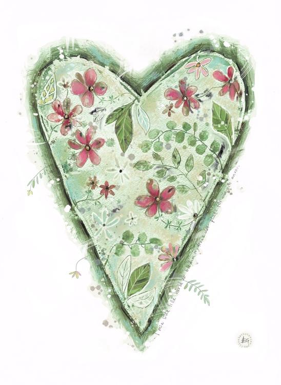 I min lilla lilla värld av blommor..