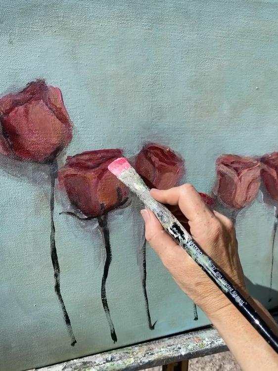 Jag ska göra en säng av rosor