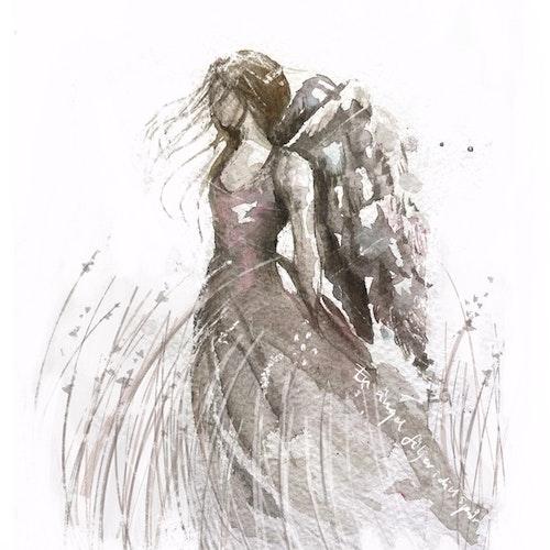 En ängel följer i ditt spår