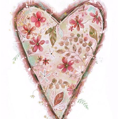 Gammelrosa hjärta