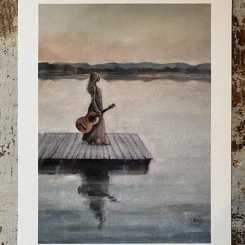 Vid sjön a4
