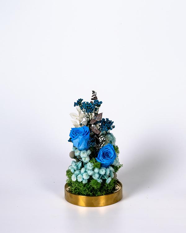 Glaskupa Mix - Blå