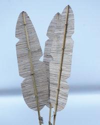 Handgjord Palm blad- 140 cm - Naturell