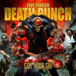 Five Finger Death Punch ‎– Got Your Six Lp x 2 + Cd