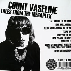 Count Vaseline ‎– Tales from the Megaplex Cd