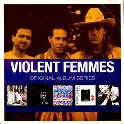 Violent Femmes ‎– Original Album Series 5Cd
