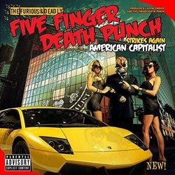 Five Finger Death Punch ‎– American Capitalist Lp