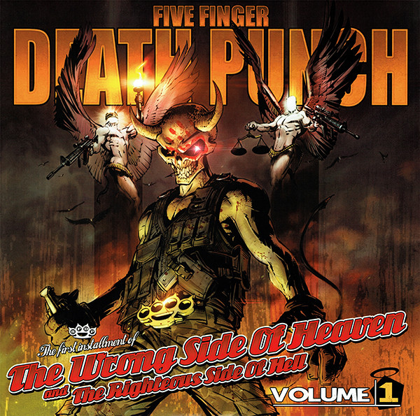 Five Finger Death Punch ‎– The Wrong Side Of Heaven And The Righteous Side Of Hell, Volume 1  2-Lp