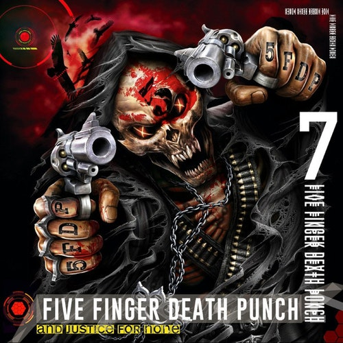 Five Finger Death Punch ‎– And Justice For None Lp x 2