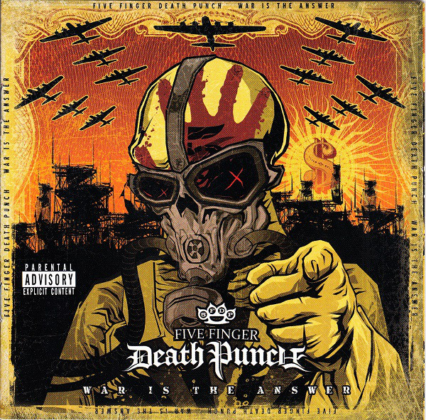 Five Finger Death Punch – War Is The Answer Lp