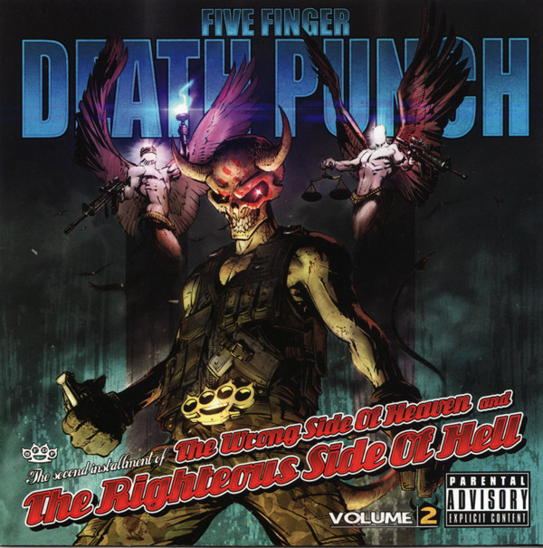 Five Finger Death Punch – The Wrong Side Of Heaven And The Righteous Side Of Hell, Volume 2 Lp