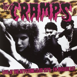 Cramps, The ‎– Live AT The Keystone Club 1979-FM Broadcast ‎Lp