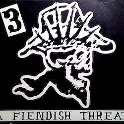 3 ‎– A Fiendish Threat Lp