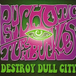 Psychotic Turnbuckles ‎– Destroy Dull City Cd