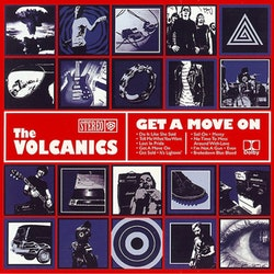 Volcanics, The ‎– Get A Move On Cd