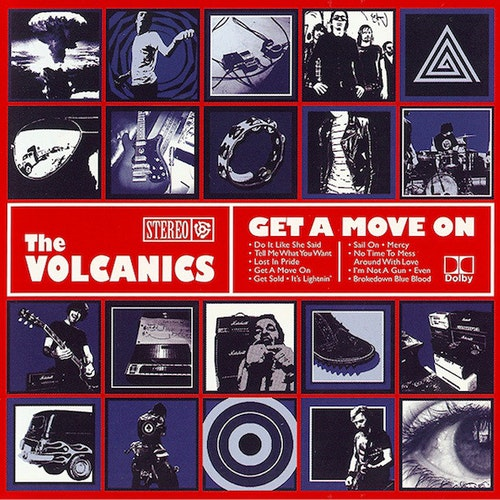 Volcanics, The – Get A Move On Cd