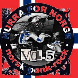 Various ‎– Hurra For Norge - Norsk Pønk-Rock - Vol.5 cd