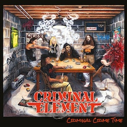 Criminal Element  ‎– Criminal Crime Time Lp