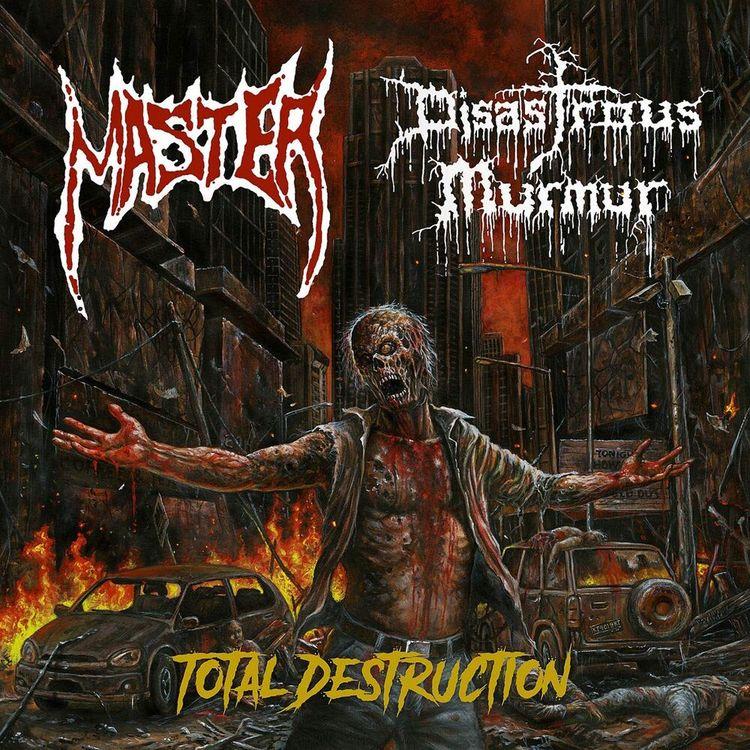 Master/ Disastrous Murmur – Total Destruction 7''
