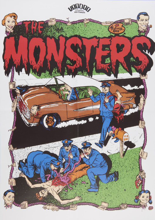 Monsters - Youth Against Nature Lp