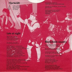 Hjerterått ‎– Late At Night 7''