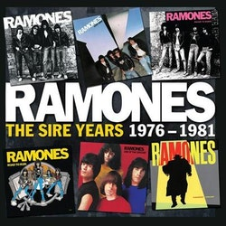 Ramones ‎– The Sire Years 1976-1981 box 6cd