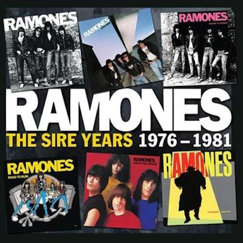 Ramones – The Sire Years 1976-1981 box 6cd