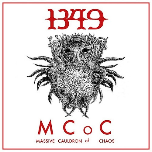 1349 ‎– Massive Cauldron Of Chaos Lp