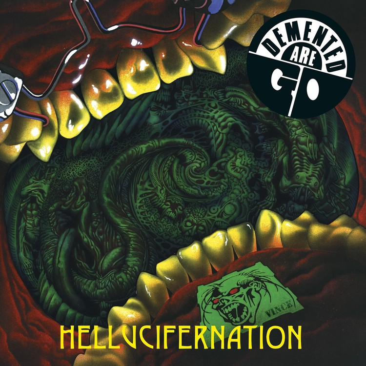 DEMENTED ARE GO - HELLUCIFERNATION LP