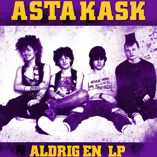 ASTA KASK - ALDRIG EN  - GUL VINYL LP