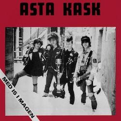 ASTA KASK - MED IS I MAGEN RÖD VINYL LP