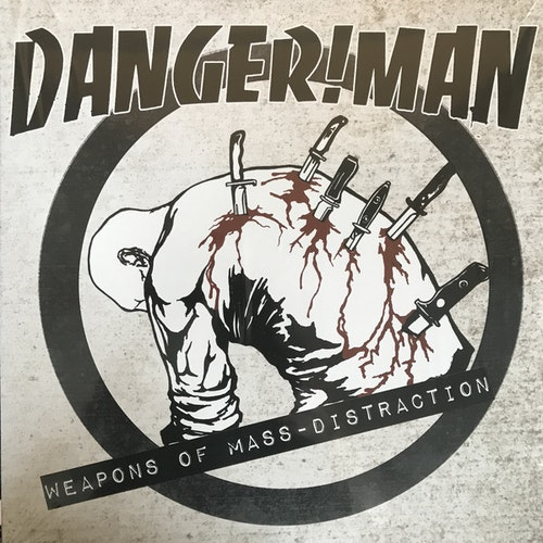 Danger!Man ‎– Weapons Of Mass-distraction Lp+cd