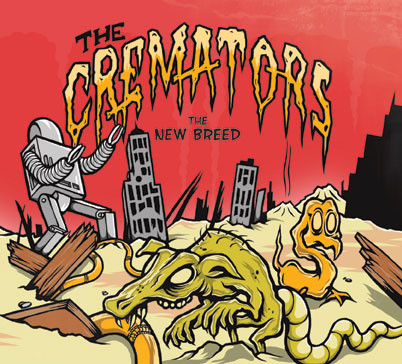 Cremators, The – The New Breed Cd